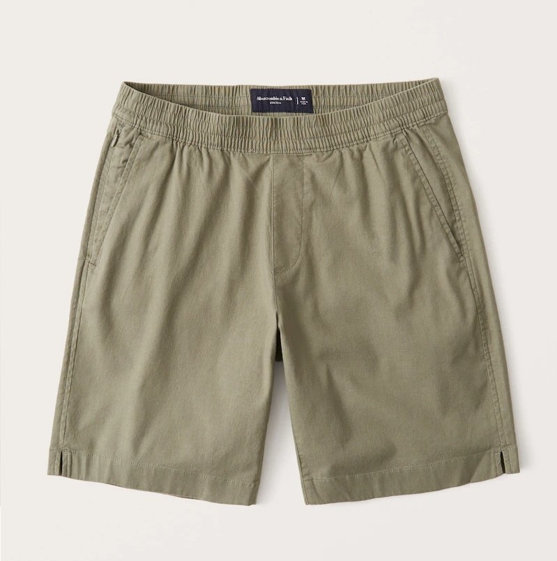 Abercrombie-and-Fitch-Pull-On-Shorts-teenager clothing styles