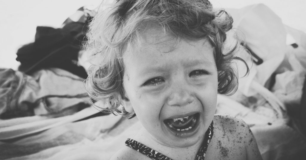 child crying-parenting guide